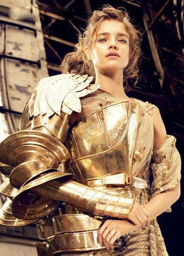 Goldener Rüstung