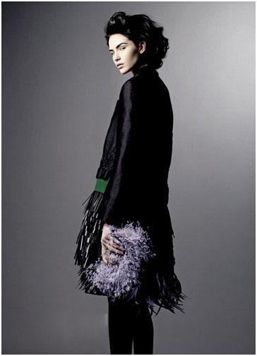 Fashion Blockbuster: leichte Federn schütteln die Mode