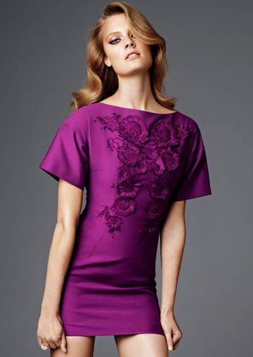 Supermodel Porträt Interpretation der jüngsten Serie von H & M
